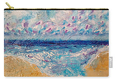 Carry-all Pouch featuring the painting A Drop In The Ocean by Tracy Bonin