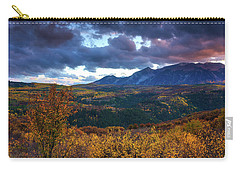 A Fall Sunset In Colorado Carry-all Pouch