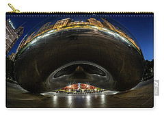A Fisheye Perspective Of Chicago's Bean Carry-all Pouch