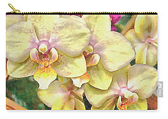 A Flash Of Orchids Carry-all Pouch