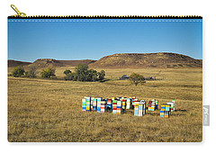 Carry-all Pouch featuring the photograph A Great Place To Bee by Carl Young