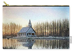 Carry-all Pouch featuring the photograph A Kind Heart - Hope Valley Art by Jordan Blackstone