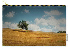 Carry-all Pouch featuring the photograph A Machias Hillside by Guy Whiteley