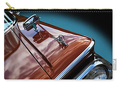Carry-all Pouch featuring the photograph A New Slant On An Old Vehicle - 1959 Edsel Corsair by Debi Dalio