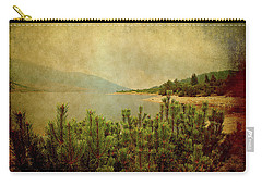Carry-all Pouch featuring the photograph A Quiet Moment Before Storm... by Milena Ilieva