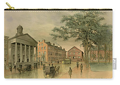 A Southwestern View Of Washington Square Carry-all Pouch