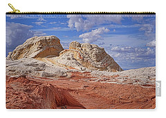 Carry-all Pouch featuring the photograph A Strange View by Theo O'Connor