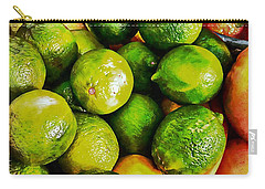 A Study In Limes Carry-all Pouch