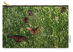 Carry-all Pouch featuring the photograph A Swarm Of Queens by Gaelyn Olmsted