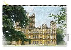 A View Of Highclere Castle 2 Carry-all Pouch
