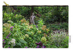 Carry-all Pouch featuring the photograph A Walk In The Garden by Dale Kincaid