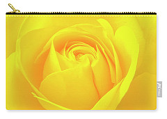 A Yellow Rose For Joy And Happiness Carry-all Pouch
