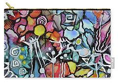 A Zentangle Dance Carry-all Pouch