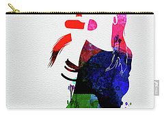 Aaliyah Watercolor Carry-all Pouch