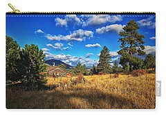 Carry-all Pouch featuring the photograph Abandoned Cabin by Dan Miller