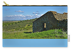 Abandoned Cottage In Alentejo Carry-all Pouch