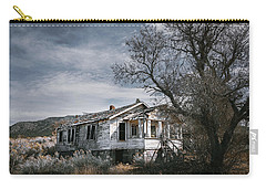 Abandoned Farmhouse In Golden, New Mexico Carry-all Pouch