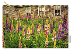 Abandoned Maine Farm Lupines Carry-all Pouch