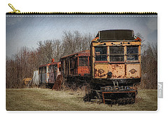 Abandoned Train Carry-all Pouch