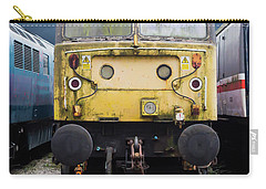 Abandoned Yellow Train Carry-all Pouch