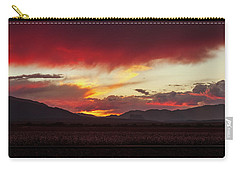 Carry-all Pouch featuring the photograph Ablaze by Rick Furmanek