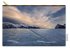 Abraham Lake Ice Wall Carry-all Pouch