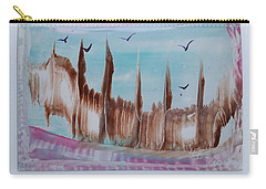Abstract Castles Carry-all Pouch