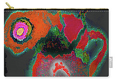 Abstract Floral Art 364 Carry-all Pouch