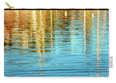 Abstract Reflections In Camden Harbor Maine Carry-all Pouch