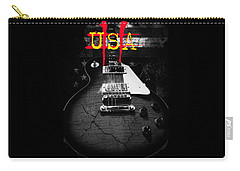 Abstract Relic Guitar Usa Flag Carry-all Pouch