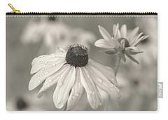 Carry-all Pouch featuring the photograph Achromatic Adoration by Dale Kincaid