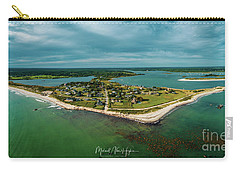 Carry-all Pouch featuring the photograph Acoaxet Life, Westport by Michael Hughes