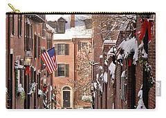 Acorn Street Snowfall Carry-all Pouch