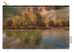 Carry-all Pouch featuring the photograph Across The Water by Leigh Kemp