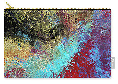 Carry-all Pouch featuring the painting Acts 1 8. Receive Power by Mark Lawrence