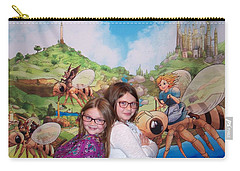 Addy, Rylie, And Tammy Carry-all Pouch