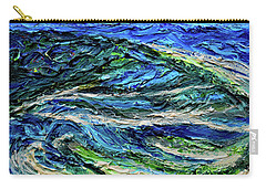 Aerial View Of Presque Isle Lake Erie Carry-all Pouch