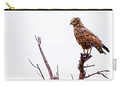 Carry-all Pouch featuring the photograph African Crowned Eagle by Kay Brewer