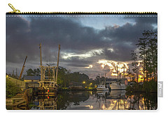 Carry-all Pouch featuring the photograph After The Storm Sunrise by Cindy Lark Hartman