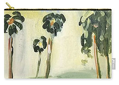 Carry-all Pouch featuring the painting Afternoon In The Park by Maria Langgle