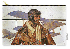German Air Force Paintings Carry-All Pouches