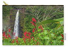 Carry-all Pouch featuring the photograph Akaka In Red by Denise Bird
