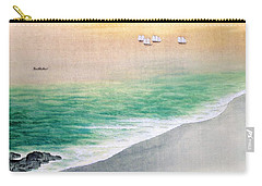 Green Flash Paintings Carry-All Pouches