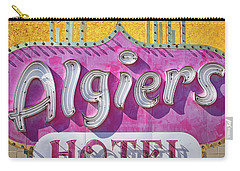 Carry-all Pouch featuring the photograph Algiers by Skip Hunt
