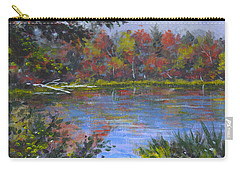 Algonquin Lake Sketch Carry-all Pouch
