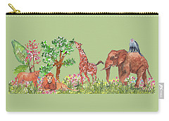 All Is Well In The Jungle Carry-all Pouch