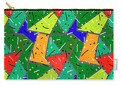 Carry-all Pouch featuring the digital art All The Right Moves by Edmund Nagele