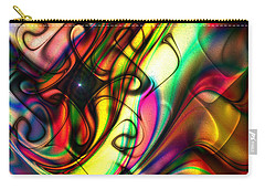 Carry-all Pouch featuring the digital art Allure by Kiki Art
