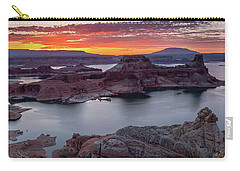 Carry-all Pouch featuring the photograph Alstrom Point by Edgars Erglis