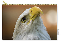 Carry-all Pouch featuring the photograph Amazing - Wildlife Art by Jordan Blackstone
